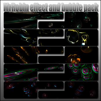 MrRobin effect,bubble c4d pack by MrRoBiN