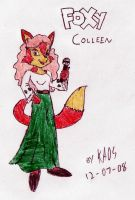 PTT - Foxy Colleen by KaosJay666