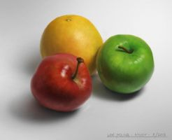Color Study - fruits by artlon