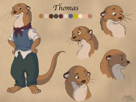 Thomas - Character Reference by Mavuriku