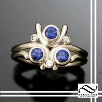 New Zora's Sapphire Custom Ring by mooredesign13