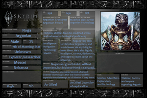 Noga's RP Identification by The-Argonian