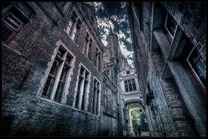 Dark side of Bruges III by zardo