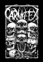 7 Deadly Sins merch design for Carnifex by DariusM1993