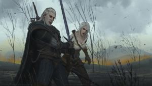The Witcher 3: Wild Hunt Fan Art by MariusBota
