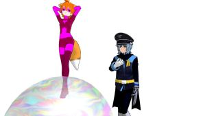 MMD Super Fox and Tiger General Download by Nanashione