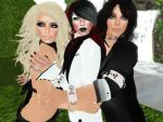 Lirie, Phae, and Rissa by TwistedPhae