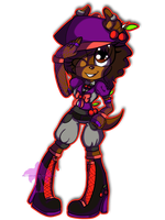 .:TTT:. Mitchie the Cherry Pirate by Jewel-Shapeshifter