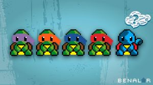 tmnt squirtle? - Wallpaper by pericles1