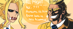 All Might [The Inventory] by TamaCorp