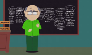 Mr. Garrison explains Game of Thrones by obscurepairing