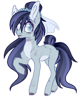 Tears to Shed - Halloween pony Auction - [CLOSED] by peaceouttopizza23