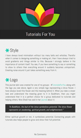 Tutorials For You journal skin by vanmall