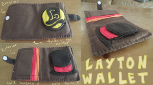 Layton Wallet by RoochArffer