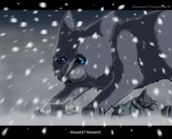 Bluestar's Prophecy ~ Mosskit's death by MoonheartThunderClan