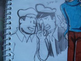 Tom and Allan by Ad1er