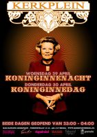 Queensday Poster by DeGraafCreativity