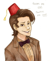 Doctor Who- Matt Smith by Omnomnom-Monster