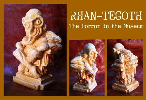 Rhan-Tegoth, The Horror in the Museum - Lovecraft by zombiequadrille