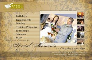 1st Event Planner Brochure by PropaG4nda