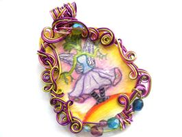 Unnamed Fairy Pendant by sojourncuriosities