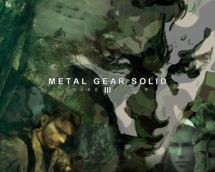 MGS3: Snake Eater by DjG-Wp