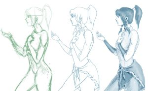 Korra practice by nightcat93