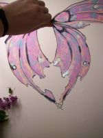 Pearls and Ice Pixie Wings 2 by KimsButterflyGarden