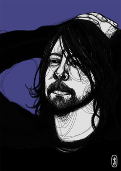 Dave Grohl by joniina