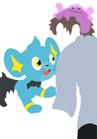 Ross with his Shinx by violets-are-red