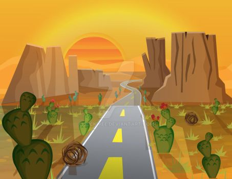 Valley Highway by Beckwee