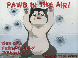 Paws in the Air by Nahima