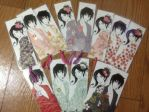Expo Bookmarks by Kairi-Moon
