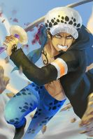 Trafalgar Law by ravefirell