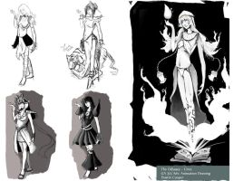 Design ideas for Circe - The Odyssey by CatCouch