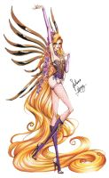 Victoria's Secret - Rapunzel by frozen-winter-prince