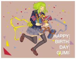 Happy Birthday Gumi! by tirole