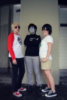 Homestuck-The Trio by ShamaRettin