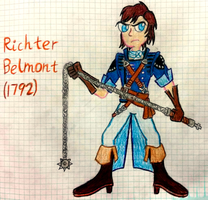 Richter Belmont (The Dracula X Chronicles) by Romulan64