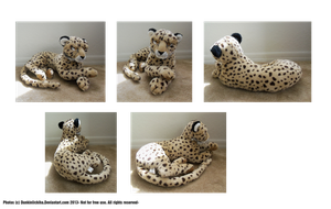 - Cheetah Plush - by Dunkin-Prime