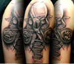 Don't Live By The Tube Tattoo by Sirius-Tattoo