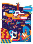 beatles: yellow submarine: undersea variant by strongstuff