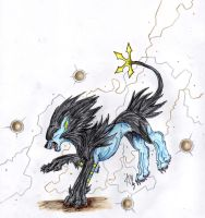 Now Luxray Use Thunder by ARVEN92