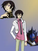 Code Geass Lelouch by AsherothTheDestroyer