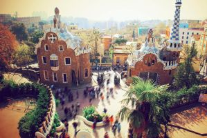 Park Guell by Vrohi