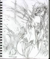 fairy sketch by ebas