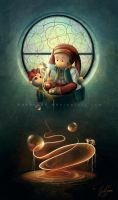The jester who wanted to be a magician by Akany89