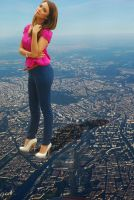 Sky Photoshoot by MalayGiantess