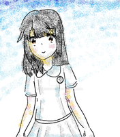 playing around with ms paint by akisegu12