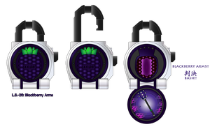 Lockseed Blackberry Arms by netro32